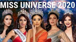 MISS UNIVERSE 2020 - YouTube