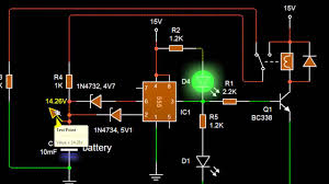 the simplist auto battery charger circuit using 555 english the simplist auto battery charger circuit using 555 english version