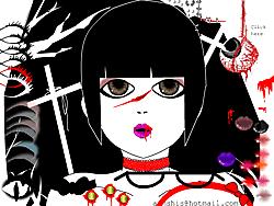 goth make up