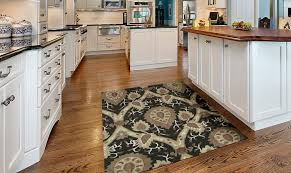 kaleen rugs kitchen transitional with area beige black casual
