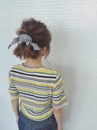 ショートロングまで楽しめるバンダナスカーフを使ったヘアアレンジ