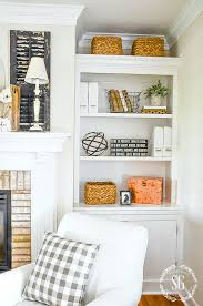 styling bookshelves without using books