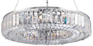 banderas circular chrome 8 light asfour crystal chandelier