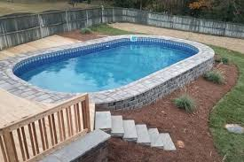 above ground pools in ground. Simple Ground ON GROUND In Above Ground Pools O