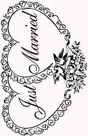 Matrimonio19 Disegni Da Colorare Per Bambini