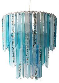 fountain botanica triple chandelier lamp shade