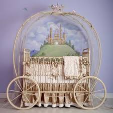 full size of furniture awesome princess carriage crib iron material cream beige finish leaves garland adorable nursery furniture