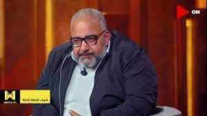 """كان أبونا كلنا""""💔.. ماجد الكدواني يعزي بيومي فؤاد في وفاة والده في  #سهرانين# - YouTube"""