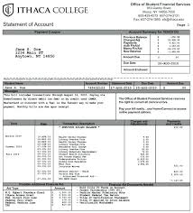 School Tuition Invoice Template Format Yelom Myphonecompany Co
