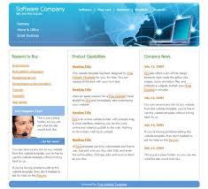 Business Templates Iwork Businesssample Example Free Joomla