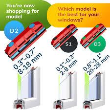 Tyroler Bright Tools D 2 Glider Magnetischer Fenster Reiniger