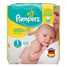 Pampers Diapers Size Chart Weight Buy Pampers Premium Protection Diapers Size 1 22 Count