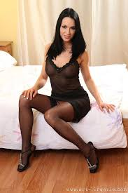 Sorry That Sexy Brunette Black Stockings Congratulate