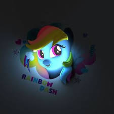 childrens bedroom lighting. Image Is Loading MY-LITTLE-PONY-3D-WALL-LIGHT-RAINBOW-DASH- Childrens Bedroom Lighting Y