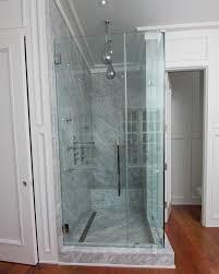 frameless shower doors to enlarge t