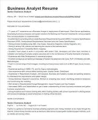 Business Analyst Resume Magnificent Entry Level Business Analyst Resume Inspirational Business Analyst