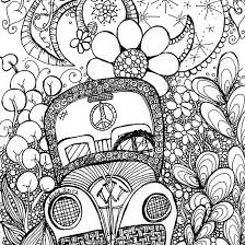 Small Picture Coloring Pages Trippy Coloring Pages Mushrooms Kids Coloring
