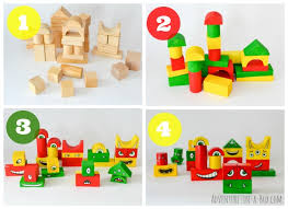 make a monster diy toy give a makeover to old wooden blocks and