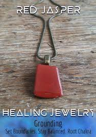 red jasper necklace jewelry for empaths grounding jewelry grounding necklace red stone