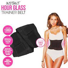 Women Underbust Waist Trainer Slim Body Shaper Corset Belt Cincher Shapewear Ebay