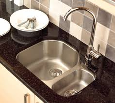 divine granite countertop and undermount stainless kitchen basin