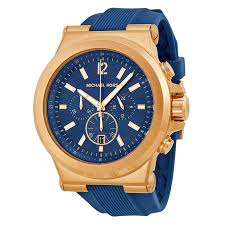 michael kors dylan navy dial rose gold tone navy silicone strap michael kors dylan navy dial rose gold tone navy silicone strap men s watch mk8295