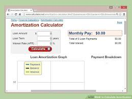 Sample Schedules Loan Amortization Schedule Excel Fascinating How To Calculate Amortization 44 Steps With Pictures WikiHow