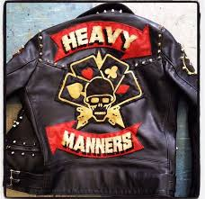 custom embroidered patches rockers for motorcycle clubs and individual bikers
