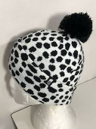 North Face Infant Hat Size Chart Details About North Face Beanie Youth Jr M Kids Ski Tuke Knit Logo Pompom Black White Dots