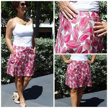 Skirt Patterns With Pockets Beauteous Show Some Flare ALine Skirt Pattern POTM So Sew Easy