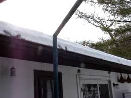 roof wires melt ice ice dam roof de icing cable solution that works youtube