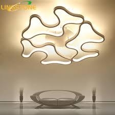 Led Plafond Verlichting Moderne Lamp Aluminium Afstandsbediening