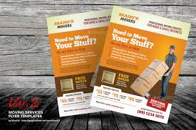 Moving Flyer Template Moving Services Flyer Templates
