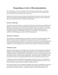How To Ask For A Recommendation Letter How To Get A Good Letter Of Recommendation In Word And Pdf