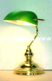 desk angelica bankers desk lamps traditional lamp brass green glass