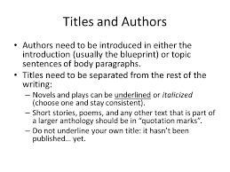 essay revision and editing ppt  2 titles