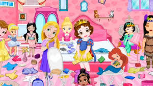 baby princess room cleaning play the girl game online