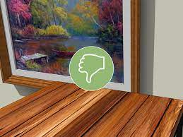 how to decorate around a painting 10