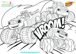 Blaze Coloring Pages To Print Printable Blaze Coloring Pages Free