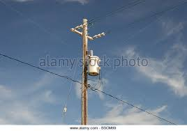 electric power pole transformer stock photos & electric power pole Power Pole Transformer Wiring transformer on wooden pole with wiring and insolators stock image Pole Transformer Wiring Diagrams