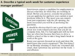 customer experience manager top 10 customer experience manager interview questions and answers