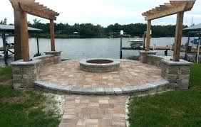 picturesque how to build a fire pit on a concrete patio how to build fire pit