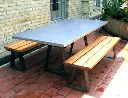 outdoor cement table concrete top outdoor table concrete round table and benches outdoor cement top outdoor
