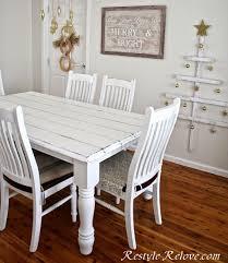 Faux Plank Farmhouse Table
