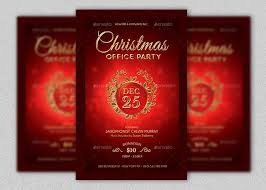 office party flyer christmas party flyer template is an elegant christmas invitation