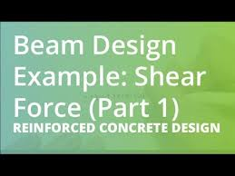 Small Picture Beam Design Example Shear Force Part 1 Reinforced Concrete