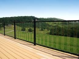 glass railing for decks railings that wont block your view glass railing deck toronto glass railing for decks