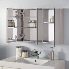 modern bathroom mirror cabinets. Top 57 Fine 3 Mirror Bathroom Cabinet Inset Small Medicine With Cabinets Lighted Modern M