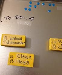 Diy Accessible Job Chart At Home For Children With Visual