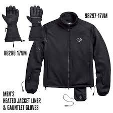 harley davidson men s heated jacket liner 98297 17vm and men s heated gloves 98298